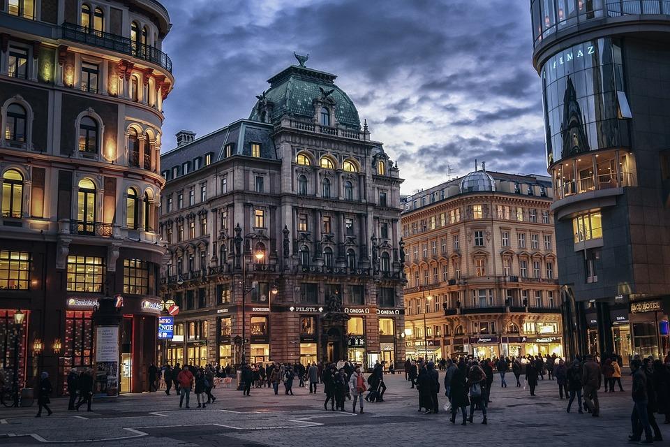 Possible location of Escort Service Vienna