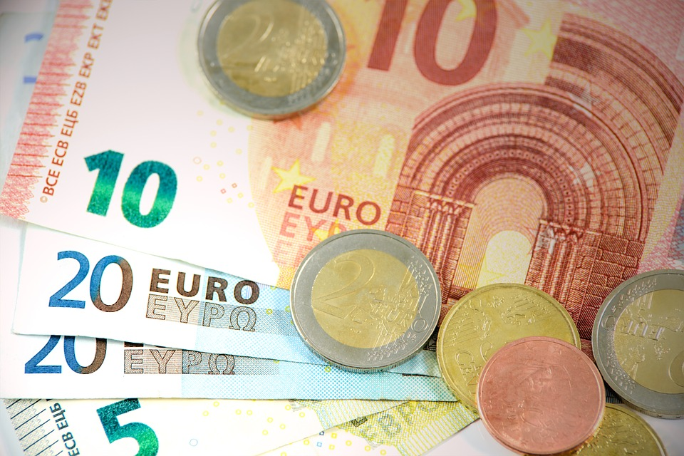 Euro Coins and Banknotes earned during Vienna Escort