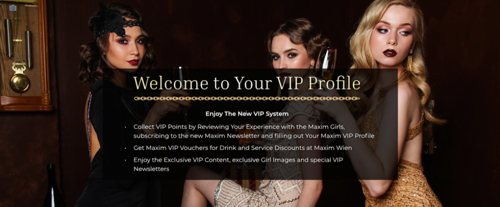 maxim vip dashboard
